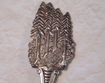 Muir Woods Spoon / Silver Metal Spoon