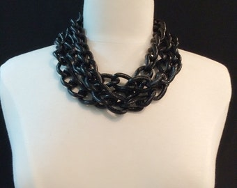 Chain Necklace - Black