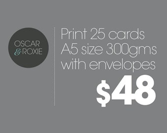 Extra 25 - A5 Cards added to Card order