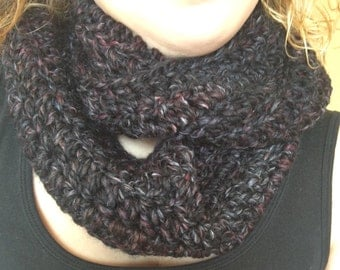 Chunky Crochet Infinity Scarf - Women's Accessories Circle Scarf