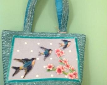 Birds in flight Bag