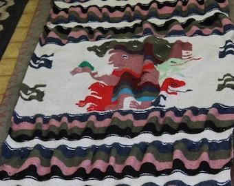Vintage Central American Blanket