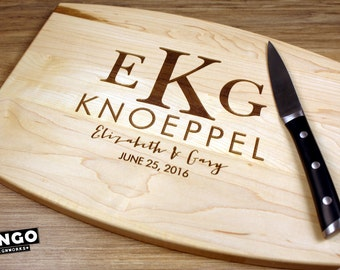 Personalized Cutting Board Personalized Wedding Gift Engraved Cutting Board Wedding Gift For Couples