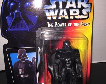 Star Wars The Power of The Force Darth Vader Action Figure