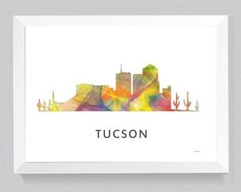 Tucson, Arizona Skyline WB1