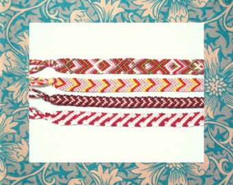 Set of 4 Friendship Bracelets