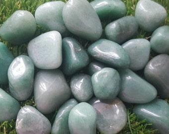 Green Aventurine crystal tumblestone, Green Aventurine Crystal, Green Aventurine Stone