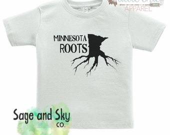 KIDS MN Roots Tee