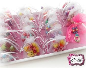 "Shopkins ""Fit for a Princess"" Party, Sleepover DIY Bracelet Kits, Shopkins Birthday, Shopkins Jewelry, Party Favors"