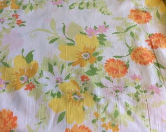 Vintage Flat Sheet - Twin Size