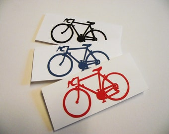 Hand-Cut Bike Card