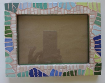 Mosaic picture  frame  nr. 298