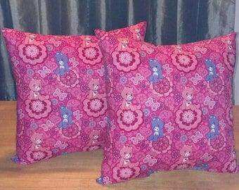 Care Bears Pillows Set of 2