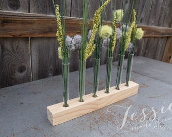 Test Tube Bud Vase - Flower Centerpiece - Test Tube Flower Vase - Test Tube Vase - Bud Vase - Mother's Day Gift - Centerpiece - Wedding