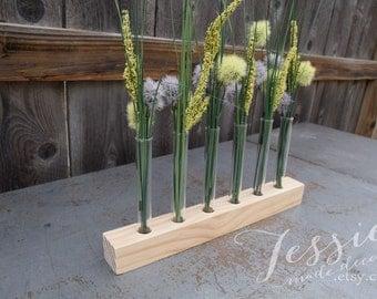 Test Tube Bud Vase - Flower Centerpiece - Test Tube Flower Vase - Test Tube Vase - Bud Vase - Mother's Day Gift - Centerpiece - Wedding