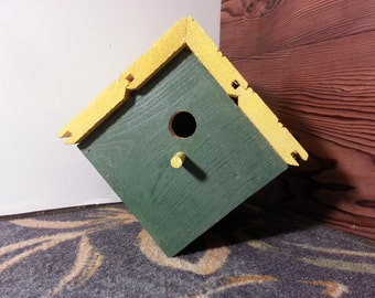 Green Bay Packers Birdhouse, woodworking, garden