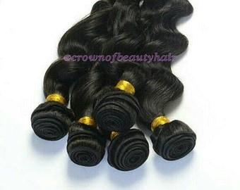 100% Human Hair,Loose Wave Bundles, Loose Wave Hair,Virgin Hair,Weft Hair,Bundles,Natural Look