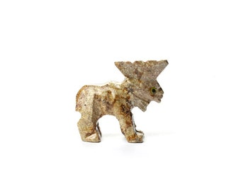 Moose Soapstone Animal Carving | 1 piece