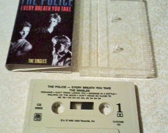 """The Police """"Every Breath You Take """"  1986 A & M Cassette"""
