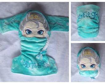 Modern Cloth Nappy Minky Elsa Frozen