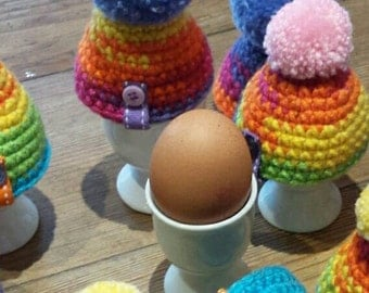 Crocheted Egg Cosy
