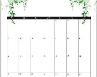 2017 March calendar, wall calendar, printable calendar