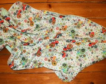 Baby Blanket, Minky Baby Blanket,Gender Neutral, Nursery Bedding, Stroller Blanket