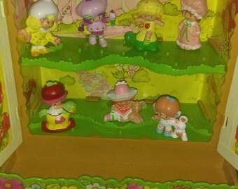 Vintage strawberry shortcake cabinet