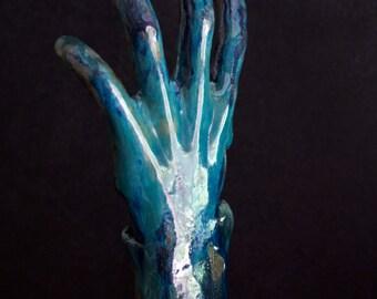 Left 4 Dead Concept Art /// Zombie Hand Ceramic Sculpture
