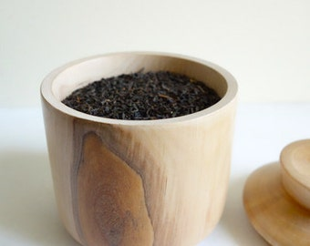 Wooden tea box