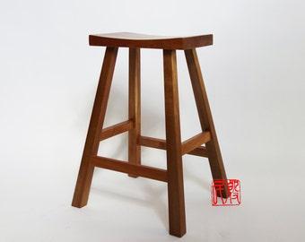 Asian Style Bar Stools asian style stool   etsy