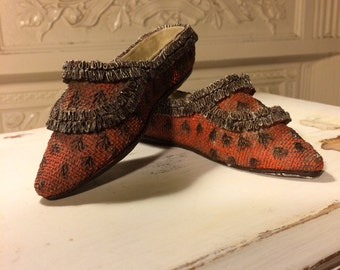 Ceramic Miniature Slippers