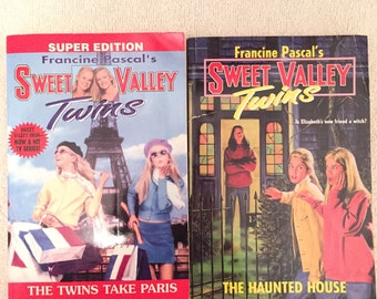 Vintage Sweet Valley Twins Books