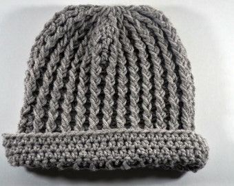 Adult Simple Crochet Hat for Adults