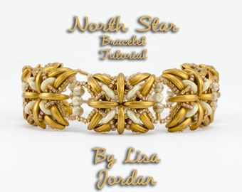 North Star Bracelet Pattern Tutorial - By Lisa Jordan, Starman TrendSetter