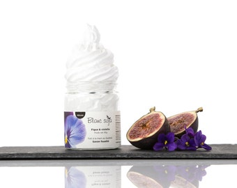 Fig and violet, whipped SOAP
