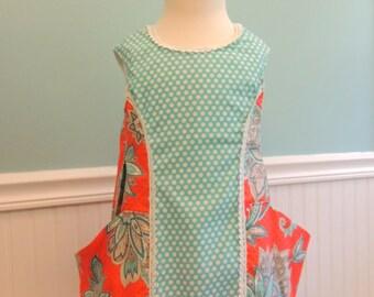 Girls Dress - Toddler Dress-Girls Pocket Dress-Pocket Dress - Dress With Pockets - Baby Dress -  Dress - A line Dress - Summer Pocket Dress