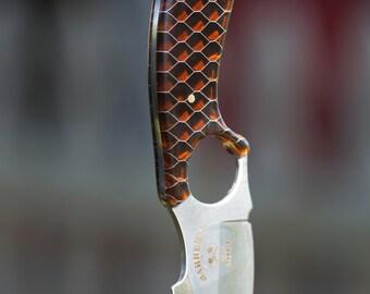 Hand made, custom neck knife