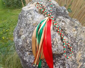 Handfasting Cord, Handfasting Ribbon,Pagan Wedding Ritual, Alternative Wedding Ritual,Celtic Wedding,Handbinding, Tying the Knot,
