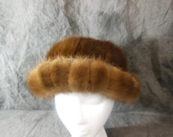 Vintage Mink Hat - Gimbels