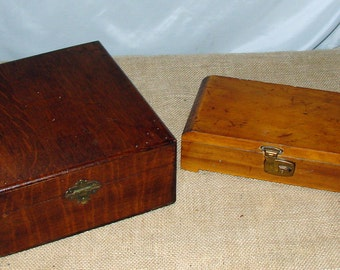 Old Oak Humidor & Wood Cigar Box Great Storage Boxes