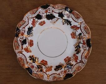 """Three Vintage Hand Painted Imari Tea, Side or Sandwich Plates 7.25"""""""