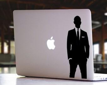 James Bond 007 Daniel Craig Spectre Inspired Sky Fall Quantum of Solace Mac MacBook Laptop Vinyl Decal Sticker