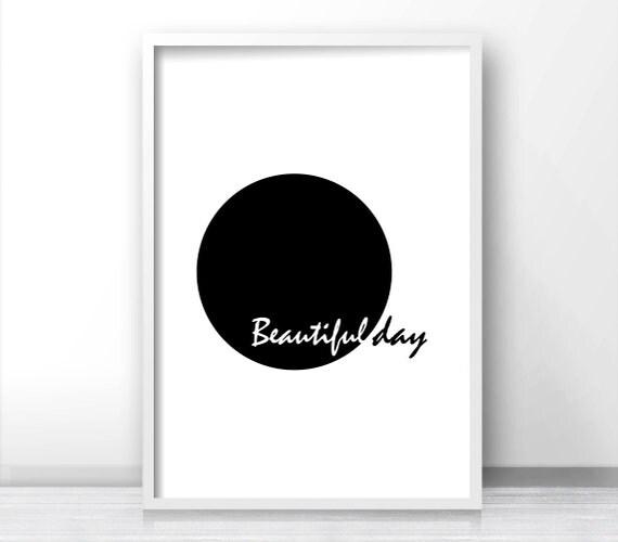 17 Inspiring Wonderful Black And White Contemporary: Printable Wall Art Minimalist Black And White Art Print