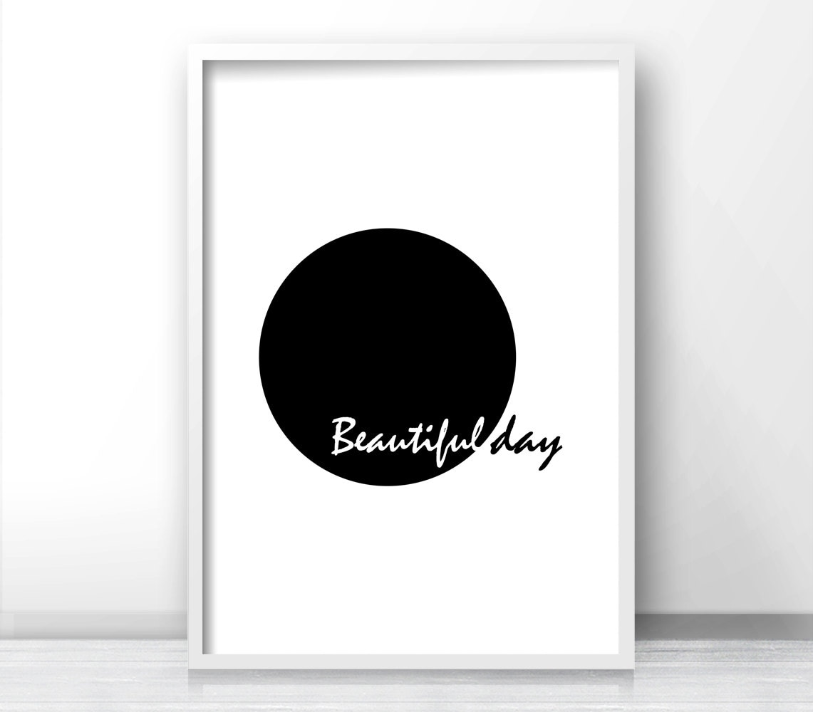 Printable wall art minimalist black and white art print for Minimalist wall decor ideas