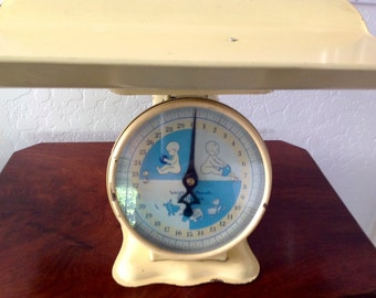 Vintage Nursery Baby Scale