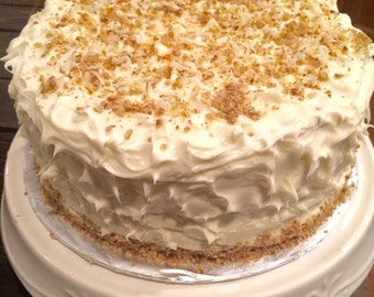 Mary V's Sweets Italian Creme 3 Layer Cake w/ Buttercream Frosting