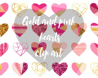 hearts clip art, for personal and small commercial use