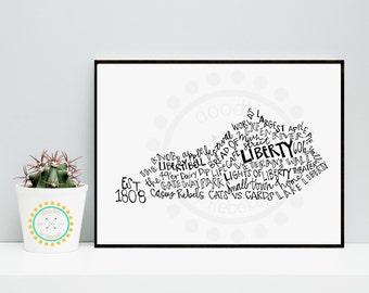 Liberty KY 8x10 print