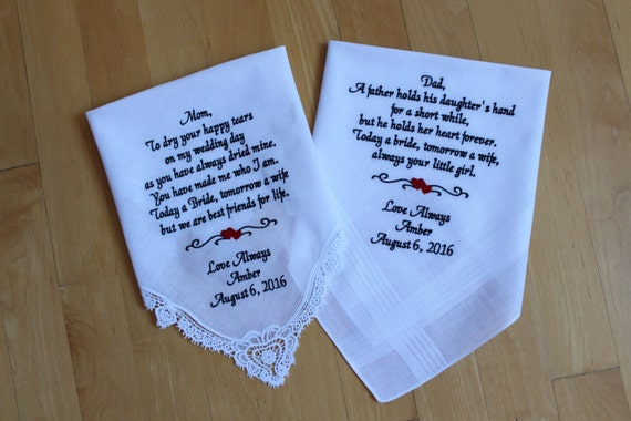 Wedding Gifts For Parents Canada : ... Wedding hankies. Personalized Wedding Gift. Canada. LS0MS1F23